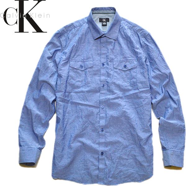 カルバンクラインCK長袖シャツ画像@古着屋カチカチ (4)
