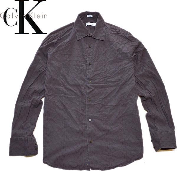 カルバンクラインCK長袖シャツ画像@古着屋カチカチ