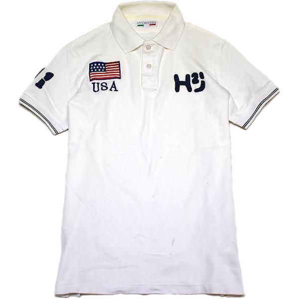 USED半袖ポロシャツ画像@古着屋カチカチ (5)