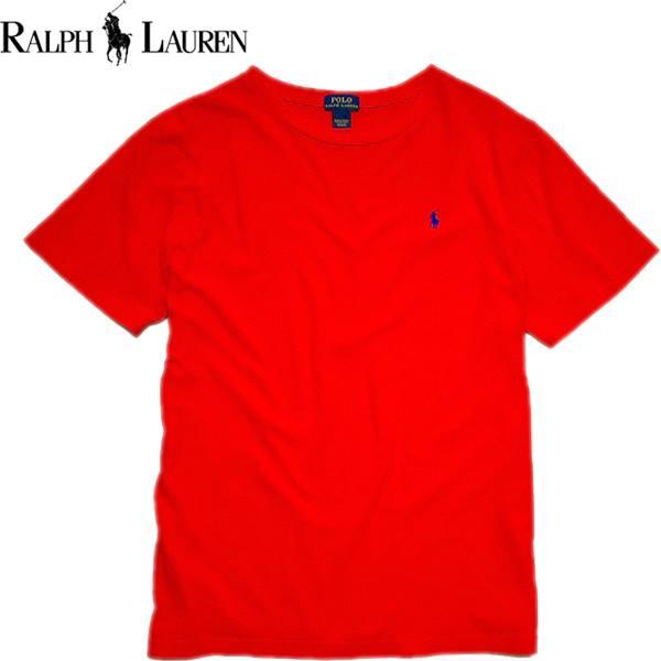Ralph Laurenポロラルフローレン無地Tシャツ画像メンズレディースOK@古着屋カチカチ02