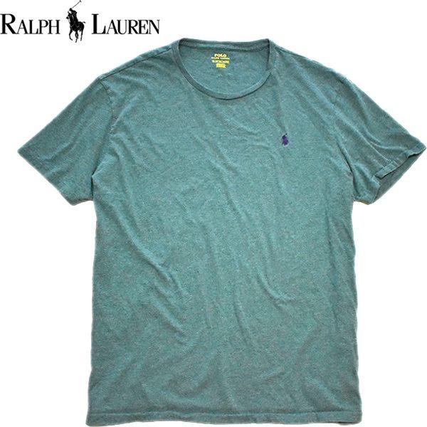Ralph Laurenポロラルフローレン無地Tシャツ画像メンズレディースOK@古着屋カチカチ03