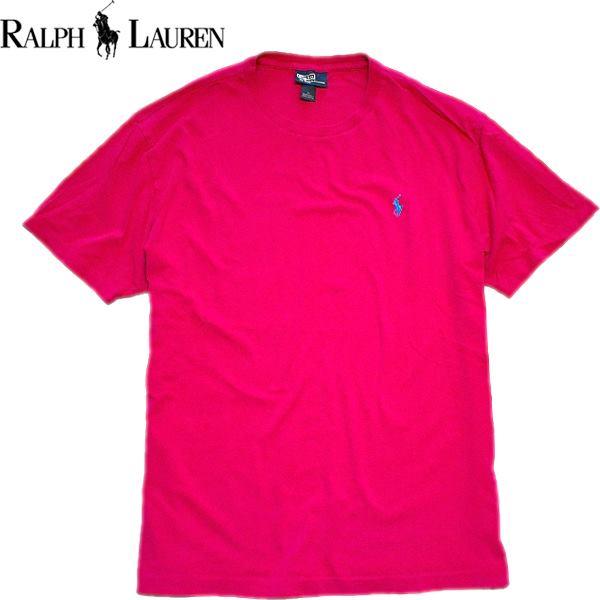 Ralph Laurenポロラルフローレン無地Tシャツ画像メンズレディースOK@古着屋カチカチ04