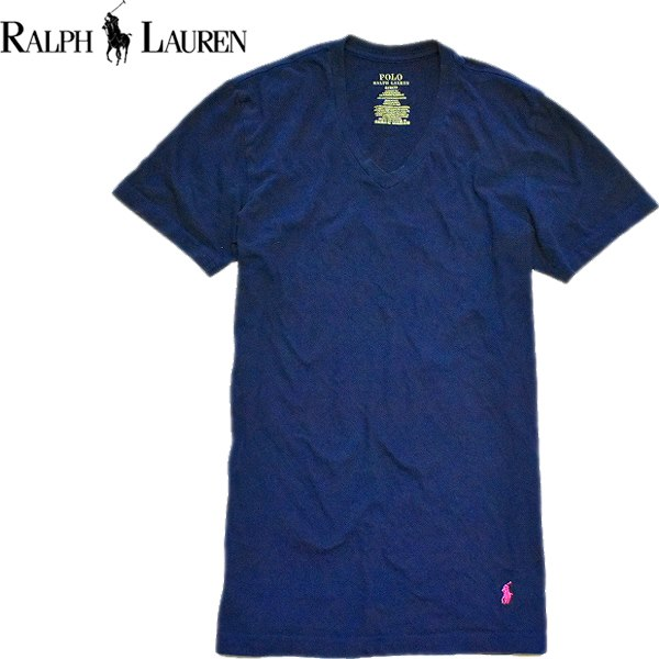 Ralph Laurenポロラルフローレン無地Tシャツ画像メンズレディースOK@古着屋カチカチ06