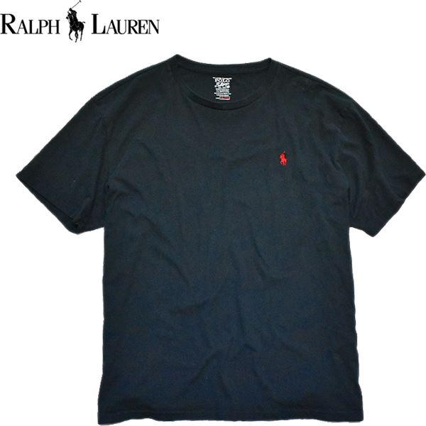 Ralph Laurenポロラルフローレン無地Tシャツ画像メンズレディースOK@古着屋カチカチ07