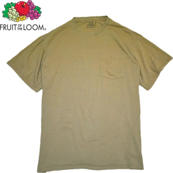 シンプル無地ポケットTシャツ画像@古着屋カチカチ (4)