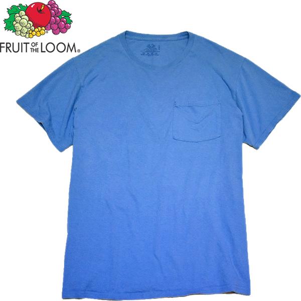 シンプル無地ポケットTシャツ画像@古着屋カチカチ (2)