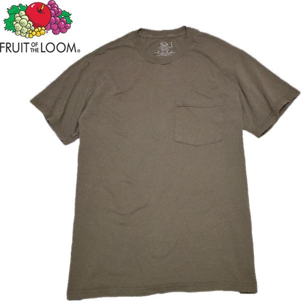 シンプル無地ポケットTシャツ画像@古着屋カチカチ (3)
