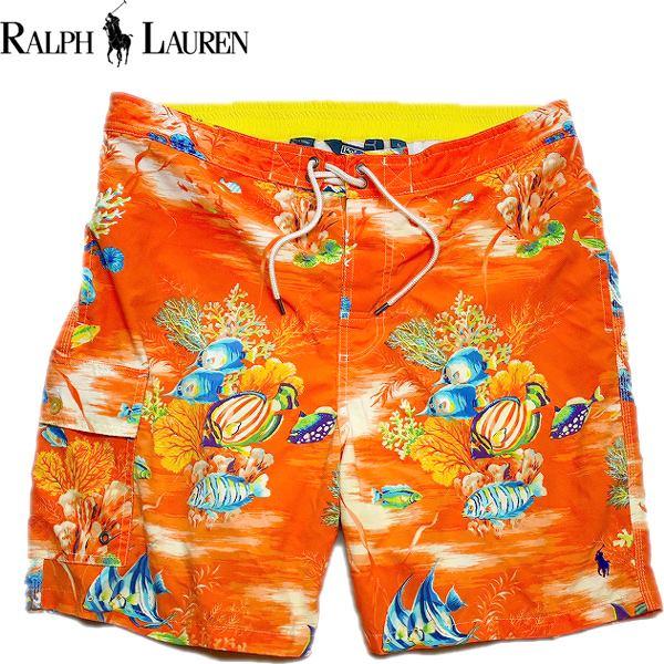 Ralph Laurenラルフローレン水着スイムウェアーショートパンツ画像メンズレディースコーデ@古着屋カチカチ03
