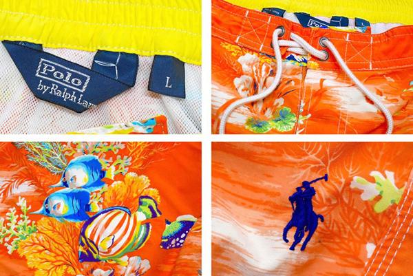Ralph Laurenラルフローレン水着スイムウェアーショートパンツ画像メンズレディースコーデ@古着屋カチカチ04