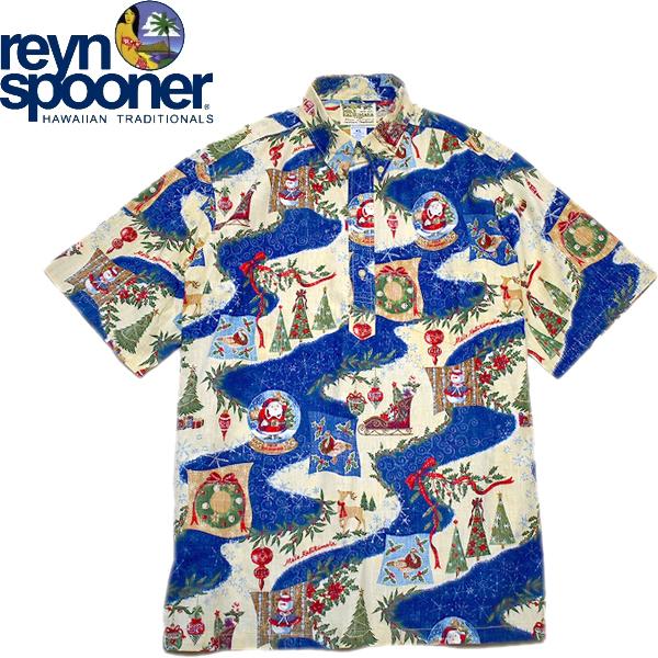 レインスプーナーReyn Spoonerアロハシャツ画像メンズレディースコーデ@古着屋カチカチ