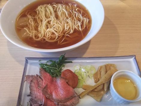 冷やし煮干 with 南高梅