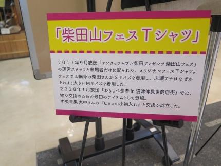 しょんないTV展 柴田山フェスTシャツ
