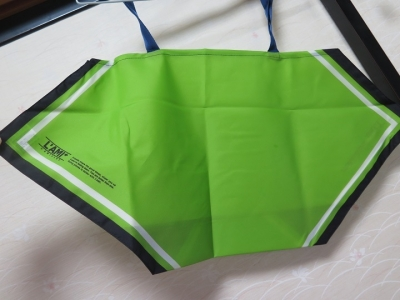 緑のスカーフエコバッグ