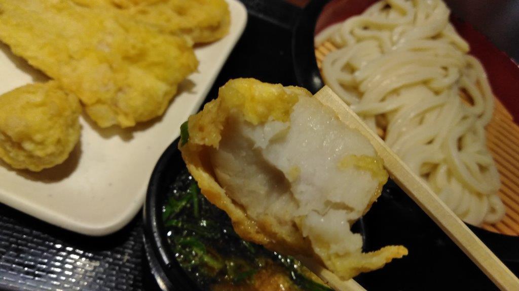 うどんの天麩羅に里芋が (1)