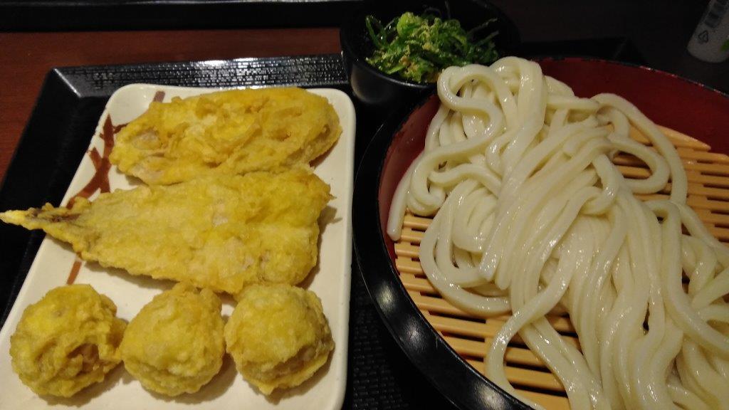 うどんの天麩羅に里芋が (3)