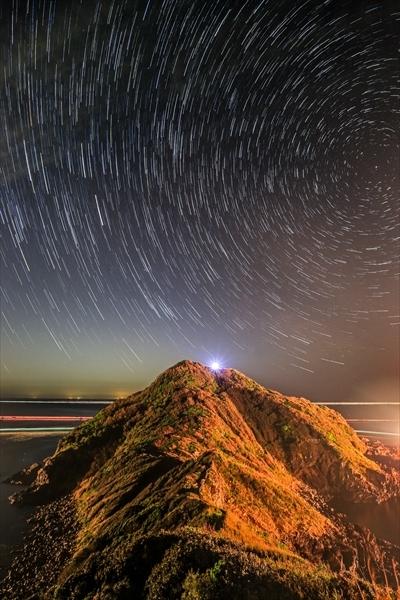 川尻岬-比較明1