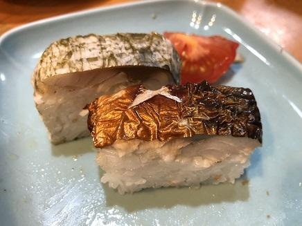 5042018 Dinner鯖寿司S3