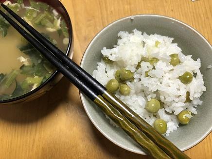 5242018 夕飯豆ご飯S