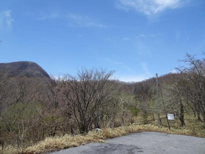 荒山から前浅間山