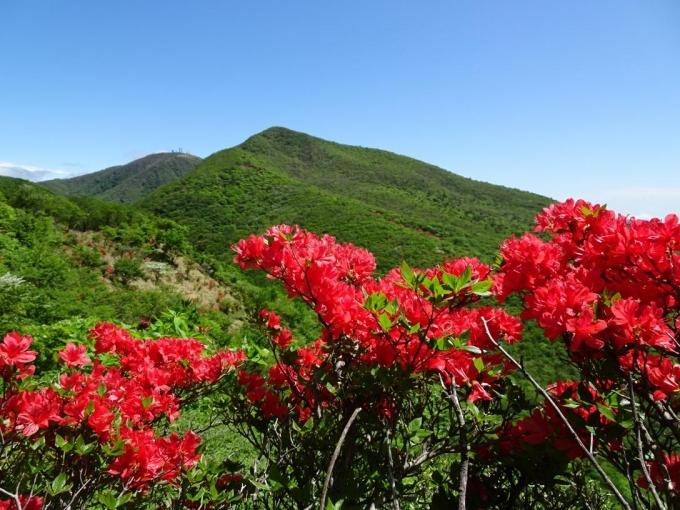 薪山から荒山・地蔵岳