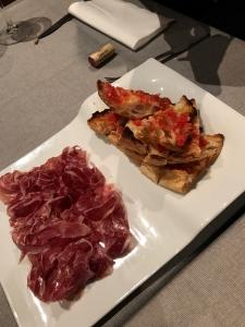 最後のスペイン料理1