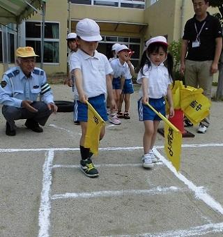交通安全教室④