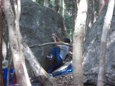 上の岩C N浜さん20180422