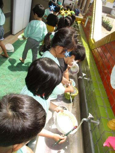 H30綾川町きらきら子育て支援事業 芸術活動 山田保育所と枌所幼稚園2