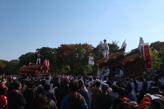 だんじりin大阪城2017-03