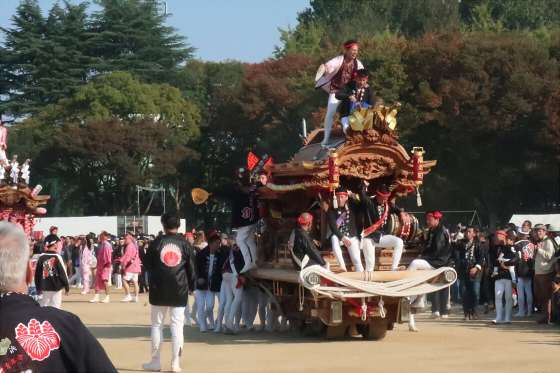 だんじりin大阪城2017-36