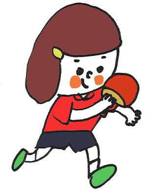 卓球選手blog