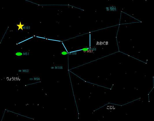 おおぐま座の銀河_20180317_M101