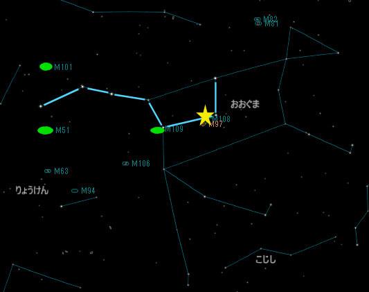 おおぐま座の銀河_20180317_M108