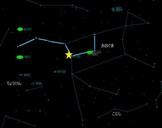 おおぐま座の銀河_20180317_M109