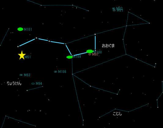 おおぐま座の銀河_20180317_M51