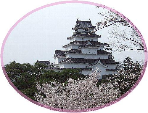 鶴ヶ城の桜02
