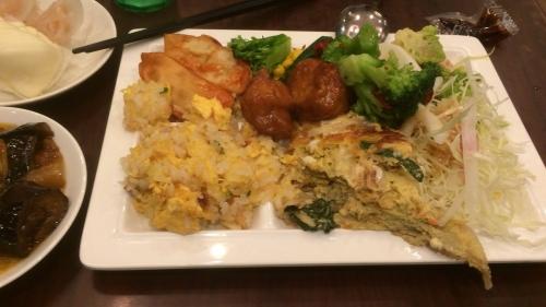 食べ放題で食べた料理1