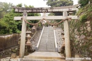 熊野神社(松江市西河津町)1