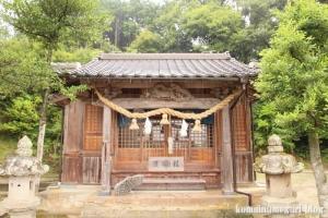 熊野神社(松江市西河津町)11