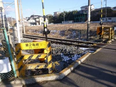 高城町駅そば踏切2