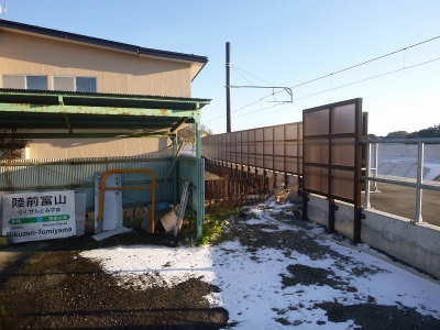 陸前富山駅1