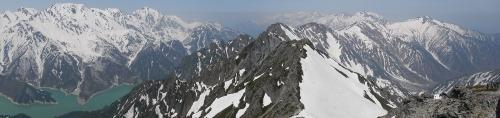 20180501 針ノ木岳パノラマ