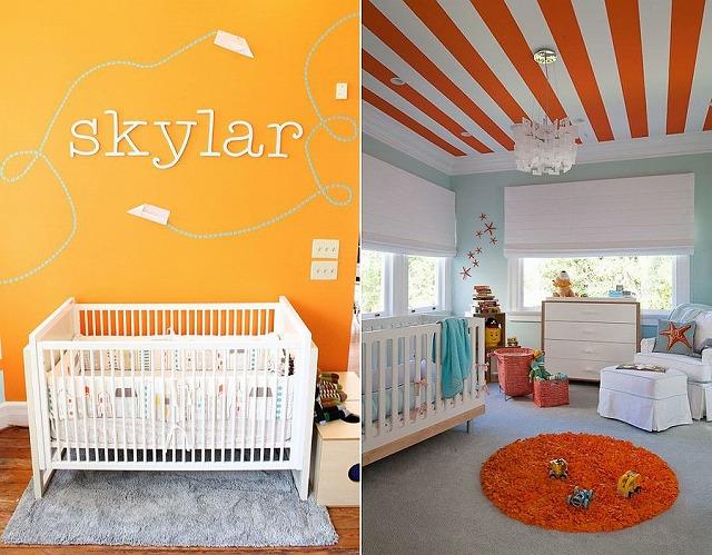 Light-blue-coastal-themed-nursery-with-striped-ceiling.jpg