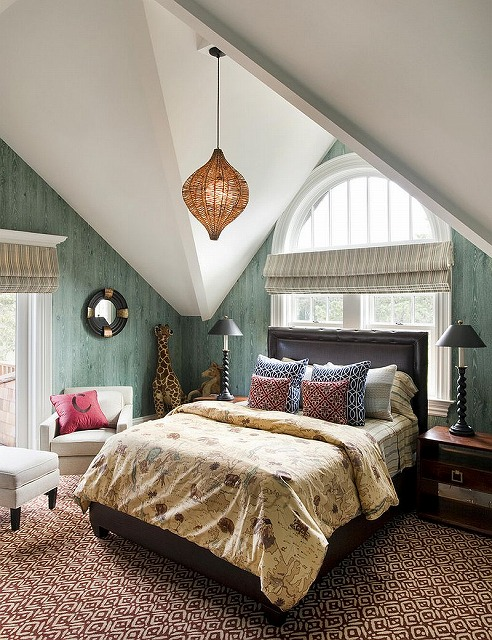 Wallpapered-walls-give-the-bedroom-a-polished-modern-appeal.jpg