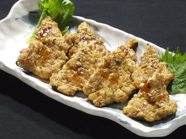 P3295880 豆腐のかば焼き