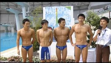 高校 水泳部 競パン 湘南工大附属