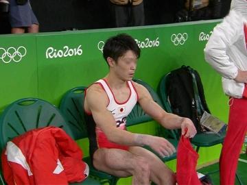 男子体操 短パンの下 レオタード 内村航平