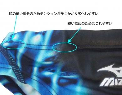 ブーメランパンツ-無理なサイズダウン-破れる-縫い目が着れる-speedo