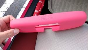 アクア ルームミラーカバー ピンク5