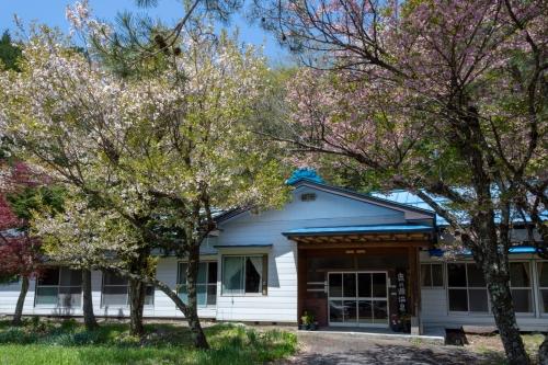 鹿ノ瀬温泉の八重桜